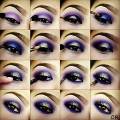 jewel tone eyeshadow tutorial