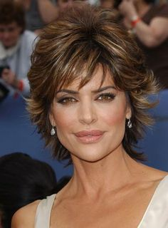 Resultado de imagen de Lisa Rinna Short Hairstyles Back View Stacked BobLisa Rinna in Annual Daytime Emmy Awards Lisa Rinna Latest Shag Hairstyles for Women - Popular Shaggy Haircuts - Hairstyles WeeklyIncredible Love Short hairstyles for mature Shaggy Short Hair, Short Shag Hairstyles, Latest Hairstyles, Hairstyles Haircuts, Latest Haircut, Hair Shag, Short Shaggy Haircuts, Hairstyle Short, Shaggy Pixie