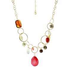 Check out this Berry Charm Antique Gold Necklace with an MSRP of $45.00, but available for $6.00 only @ nomorerack.com