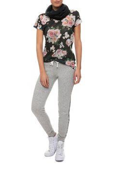 T-shirt a fiori