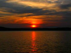 Sunset Lake of the Ozarks Missouri    We have the best sunsets - so beautiful!