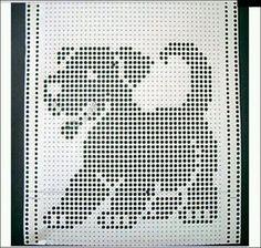 Tricot Et Crochet Machine 40 Ideas Crochet Machine, Knitting Machine Patterns, Knitting Charts, Knitting Stitches, Crochet Squares, Crochet Motif, Crochet Designs, Crochet Doilies, Crochet Patterns