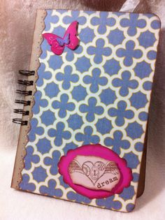 Items similar to Junque Journal.Very Chic and Sassy Dream Altered Art Junque Journal Premade Mini Album Homemade Smash Book on Etsy Notebooks, Journals, Airmail Envelopes, Scrapbook Patterns, Smash Book, Journal Pages, Journal Inspiration, Pattern Paper, Altered Art