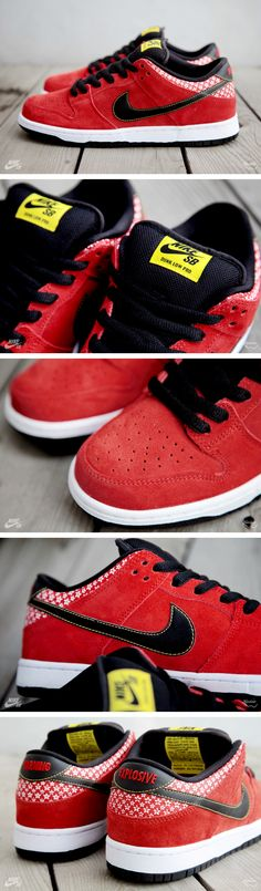 "Nike SB Dunk Low ""Firecracker"" Pack 