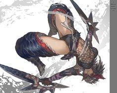 Monster Hunter   Nargacuga armor