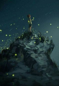 When i was a fireflie Northern Lights, Blue Nails, Aurora Borealis, Aurora