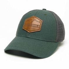 d8e6a922a44 Pendleton Round-Up Leather Hexagon Patch Hat Gorras Snapback