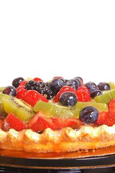 Fresh Fruit Tart #Dessert  #Recipe