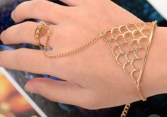 A personal favorite from my Etsy shop https://www.etsy.com/listing/252239601/bracelet-gold-color-fish-net-jali
