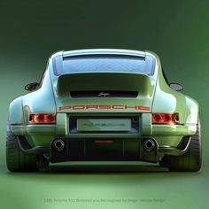 1990 Singer Porsche 964 DLS is the Steve Austin of Porsches Porsche 964, Singer Porsche, Carros Porsche, Singer 911, Porsche Autos, Porsche Cars, Porsche Carrera, Porsche Classic, Classic Cars