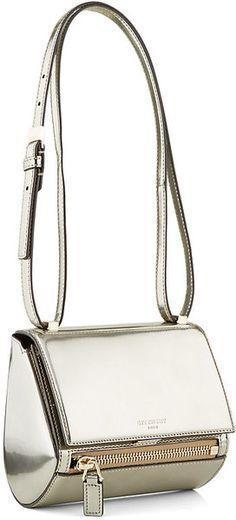 Givenchy Mini Pandora Box Bag in Metallic in Silver   Lyst