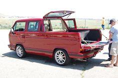 VW T3 double cab