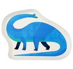 Dinosaur Shaped Plates By Talking Tables Brachiosaurus plates made with recyclable paper for hungry little dinos. Each pack contains 12 paper plates. Dinosaur Party Supplies, Dinosaur Birthday Party, Kids Party Supplies, 5th Birthday, Kids Party Decorations, Party Ideas, Party Bag Fillers, Party Plates, Childrens Party