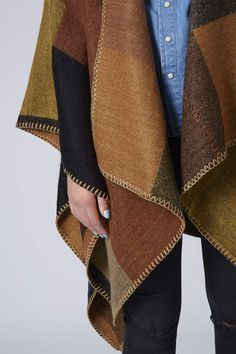 Photo 5 of Blanket Stitch Cape