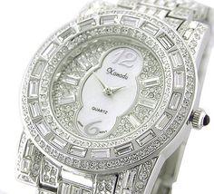 *WOW* Ladies / Men 18K SILVER Plated BLING Watch Made with SWAROVSKI Elements Xanadu, http://www.amazon.com/gp/product/B002TJNPRK?ie=UTF8=213733=393185=B002TJNPRK=shr=abacusonlines-20 via @amazon