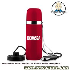 The Stainless Steel Vacuum Flask With Adapter is one of most simple and well featured product to use, which your customers can take advantage of by using it in numerous ways such as drinking and thus provides more marketing exposure to your company name by promoting your brand.