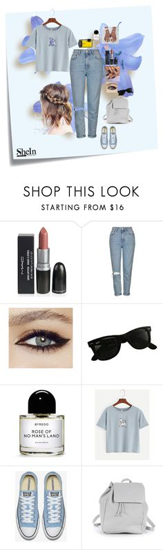"""Untitled #232"" by deboraoliveira-1 ❤ liked on Polyvore featuring Post-It, Topshop, Ray-Ban, Byredo and Zara TRF"