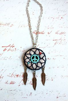 dreamcatcher polymer clay - Buscar con Google