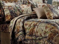 Bass Pro Shops® Realtree AP™ Camouflage Comforter Sets or Bedding Accessories | Bass Pro Shops