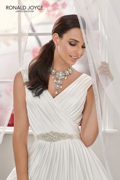 cac3a885ff89 Mori Lee Bridal, Ronald Joyce, Bridal Suite, A Line Gown, Second Weddings