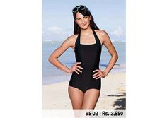 Product Code: 95-02 (Tummy control swimsuit)  Price: Rs. 2850  Material: Nylon  Sizes: Small, Medium, Large, XLarge, XXLarge