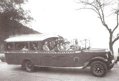 El Tranvía 48: Los primeros autobuses turísticos de Barcelona