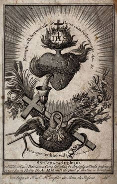 Pelican and Sacred Heart