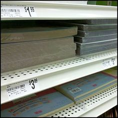 Declined vs Flat Shelving #2 Close Up, Shelving, Channel, Retail, Flats, Color, Shelves, Loafers & Slip Ons, Flat Shoes