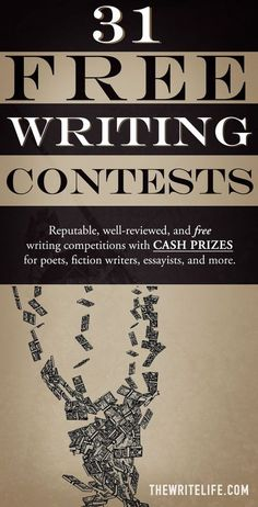 8 Best Free writing contests images in 2019
