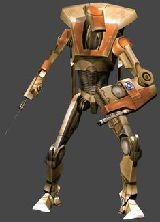 B1-A air battle droid from Star Wars