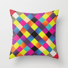 Pass This Off Throw Pillow by Danny Ivan - $20.00