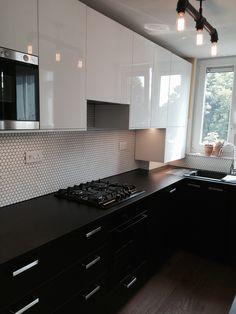 Brixton sleek black urban kitchen Urban Kitchen, Brixton, Kitchen Cabinets, Spaces, Black, Home Decor, Decoration Home, Black People, Room Decor