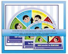 Le spectre de l'autisme - TSA et les différentes différences: Baromètre des émotions