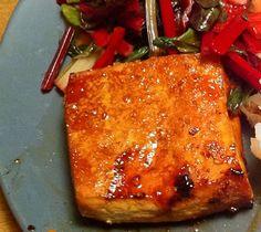 Orange Juice Baked Tofu Recipe