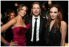 Sofia, Brad & Angelina