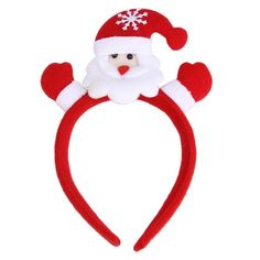 Newest Christmas Decorative Christmas Hair Accessory Decoration Home Party Head Hoop Levert Dropship F8143 #Affiliate