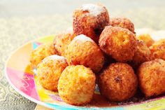 OMG...Fried macaroni and Cheese.  I might try these sometime....but they are probably too good to make too often :)