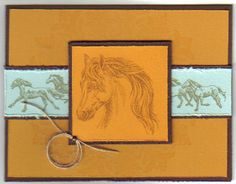 All the Pretty Horses by Ioana - Cards and Paper Crafts at Splitcoaststampers