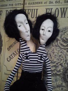 OOAK ART DOLL, poupée, by VINTARTALTEA on Etsy https://www.etsy.com/listing/177406059/ooak-art-doll-poupee