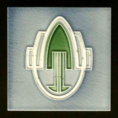 Online veilinghuis Catawiki: Georg Bankel - Art Nouveau Tile