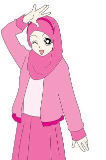 Nabila Medan: Freebies : Doodle Muslimah