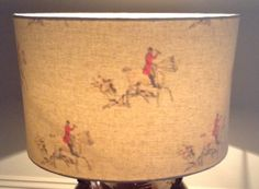 40cm Inside Out Huntsman Lampshade by TheLitttleBrickHouse on Etsy