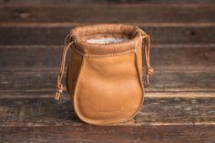 Small Reel Bag - Fishing Reel Bag  & Fly Reel Protector   Saddleback Leather Co.