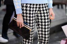Paris Fashion Week, Fall/Winter 2014-2015 - outfit - streetstyle - fashion details - pied de poule