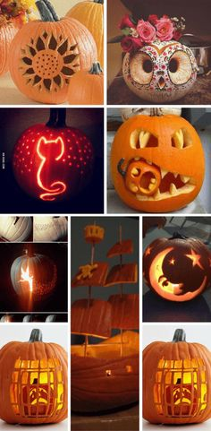 Simple pumpkin carving ideas to inspire and spice up your Fall season experience. These range from cute pumpkin carving ideas to downright scary ones. Small Pumpkin Carving Ideas, Scary Pumpkin Designs, Halloween Pumpkin Carving Stencils, Amazing Pumpkin Carving, Pumpkin Decorating, Simple Pumpkin Designs, Simple Pumpkin Faces, Pumpkin Designs Carved, Pumkin Carving Easy