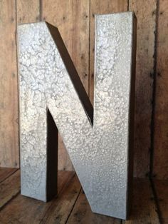 $2 DIY Metal Letters.... Possibly to spell out 4G somewhere in the main area if the cabin?
