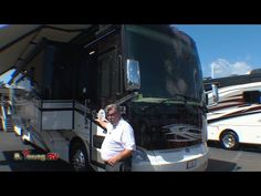 2015 Tiffin Allegro Bus 40SP Class A Motor Home - Motorhomes.com Tiffin Allegro, Tiffin Motorhomes, Rv, Camping, Youtube, Design, Campsite, Motorhome