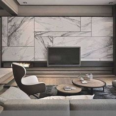 Wall Units With Fireplace, Built In Wall Units, Modern Wall Units, Living Room Modern, Living Room Designs, Fireplace Wall, Tv Wall Units, Wall Tv, Small Living