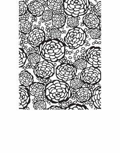 Petal Pusher (Black) Tile | Hygge & West
