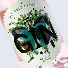Wolffer Gin Packaging by IWANT http://mindsparklemag.com/design/wolffer-gin-packaging/